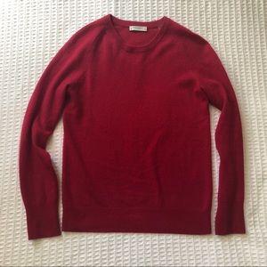 Equipment Sweaters - Equipment Sloane Cashmere Crewneck Sweater red XS